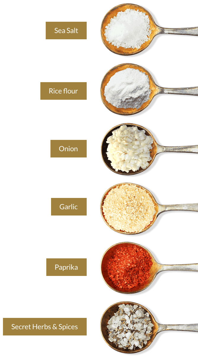 Key Ingredients of Mitani Chicken Salt